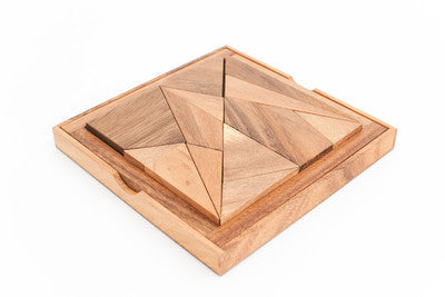 Archimedes Wooden Puzzle