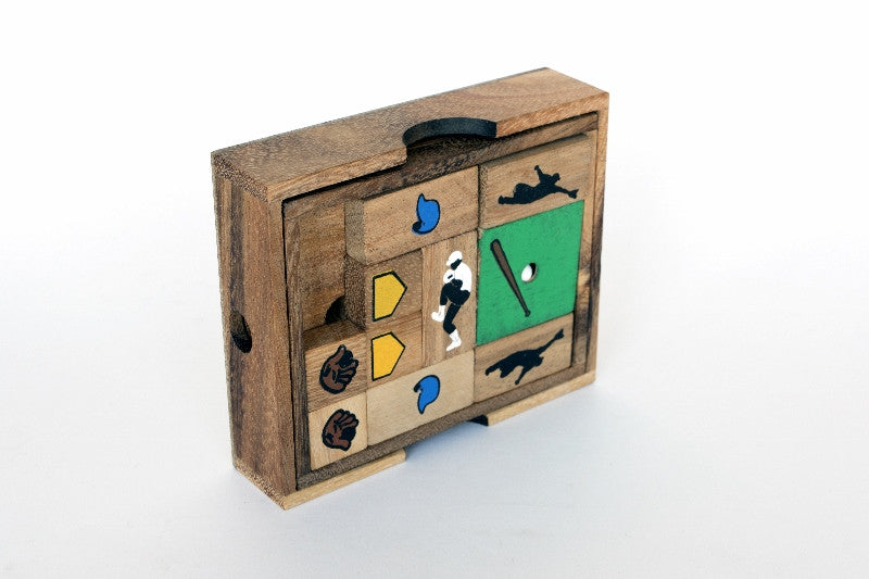 Baseball Escape - Wooden Puzzle
