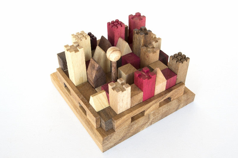 The Castle - Wooden Puzzle