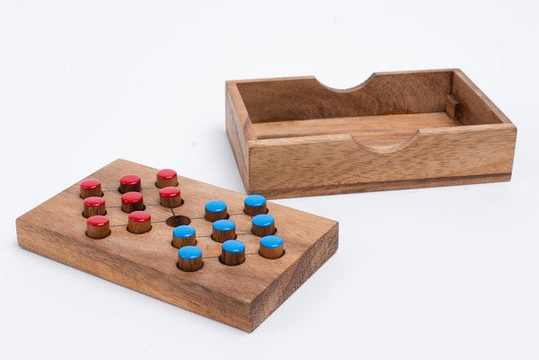 Switch Eight - Brain Teaser Wooden Puzzle