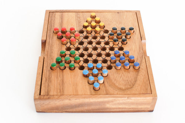 Chinese Checkers - Wooden Game
