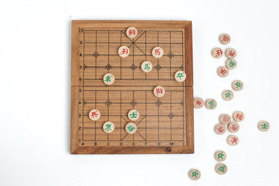 Chinese Chess (Xiangqi) - Strategy Wooden Game