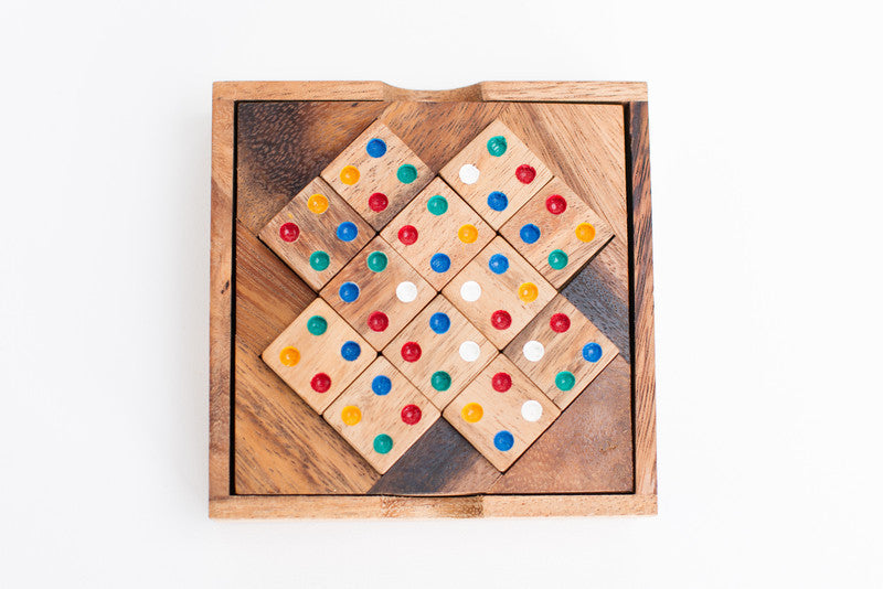 Color Match - Brain Teaser Wooden Puzzle