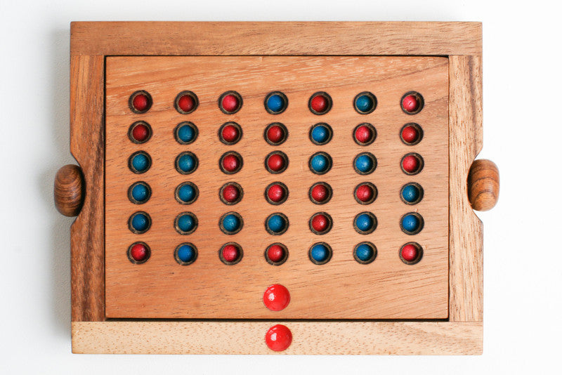 Connect Four - Wooden Game