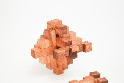 Crystal Wooden Interlocking Puzzle