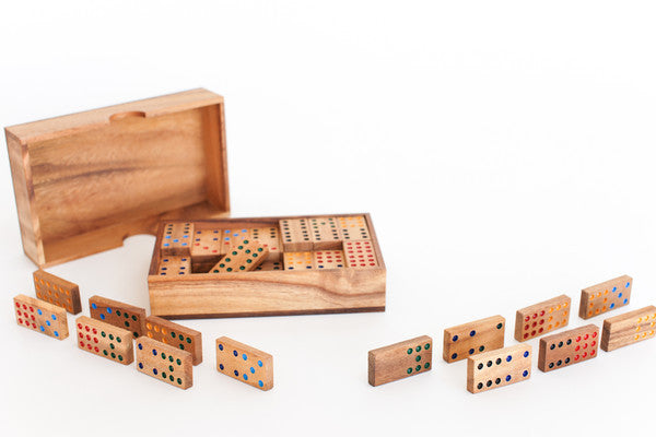 Domino 9 - Wooden Game