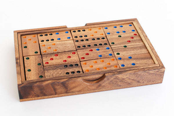 Dominos 6/6 - Wooden Game