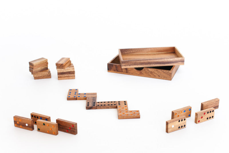 Domino 6 Classic - Wooden Game