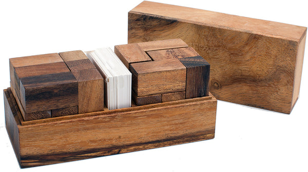 Double Soma Cube - Wooden Puzzle