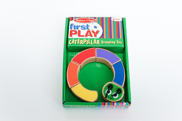 First Play Caterpillar - Kids Wooden Puzzle
