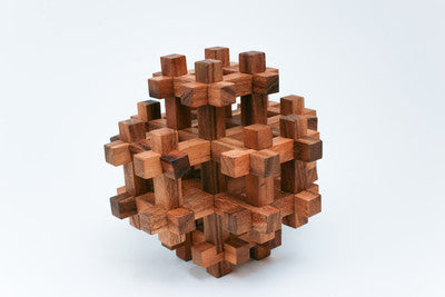 Giant 3d square - Wooden Puzzle