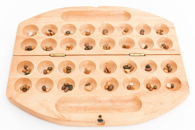HUS ( Double Mancala) - Wooden Game