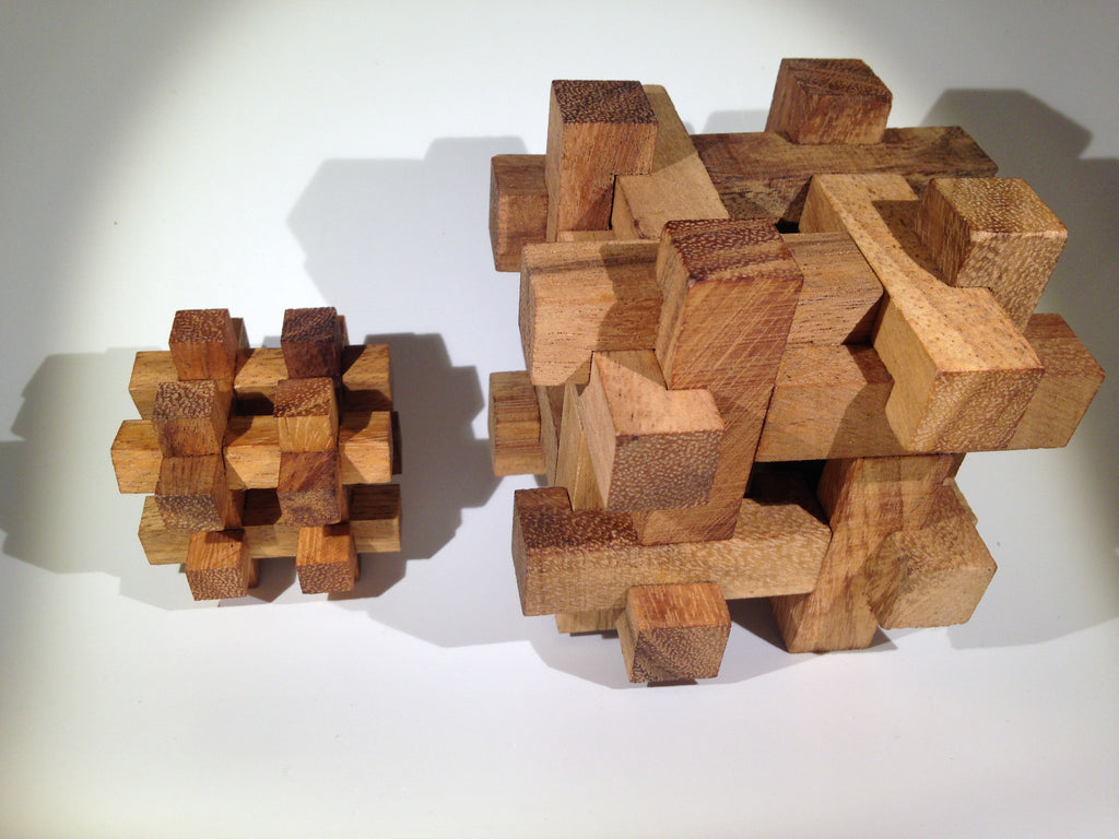 Tavor Mini Wooden Puzzle - Solve It! Think Out of the Box