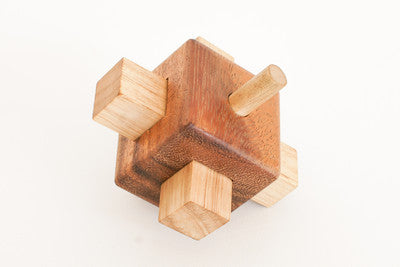 The Lock - Wooden Interlocking Puzzle