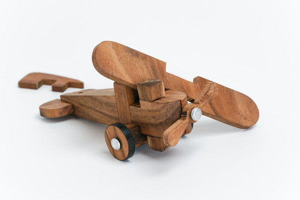 Air Plane Wooden Interlocking Puzzle