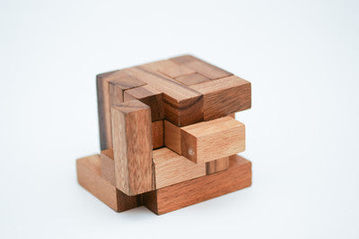 Koncy Wooden Puzzle - Brain Teaser