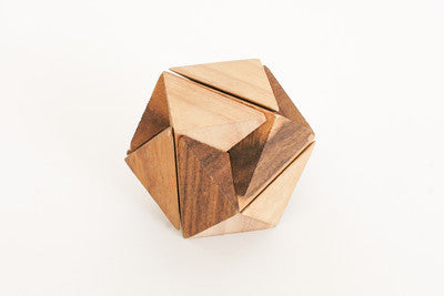 Nina Burr - Wooden Interlocking Puzzle