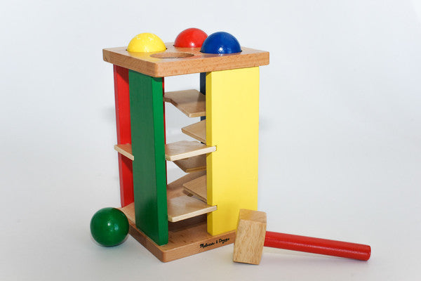 Pound and Roller - Wooden Kids Game