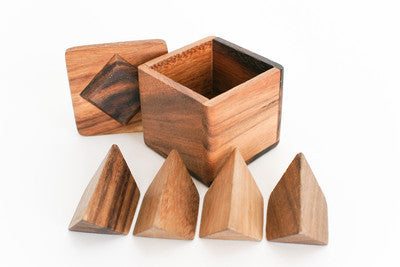 Pyramidouble - Brain Teaser Wooden Puzzle