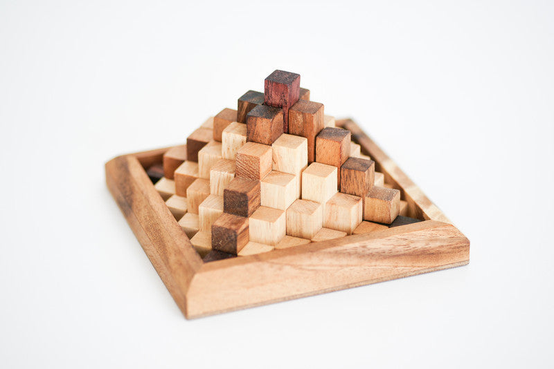Top Pyramid - Wooden Puzzle