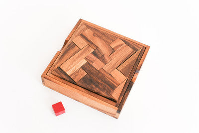 Plus One - Wooden Packing Puzzle