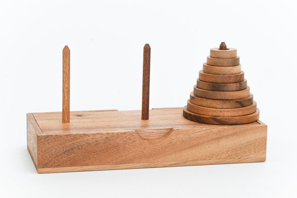 Towers of Hanoi - Wooden Puzzle