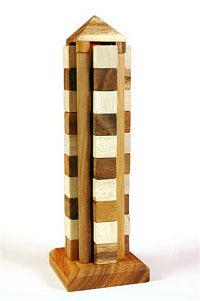 Coit Tower (Babylon) - Wooden Puzzle
