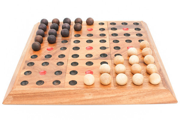Blockade Multi Board - 12 games in 1! - Wooden Board Game