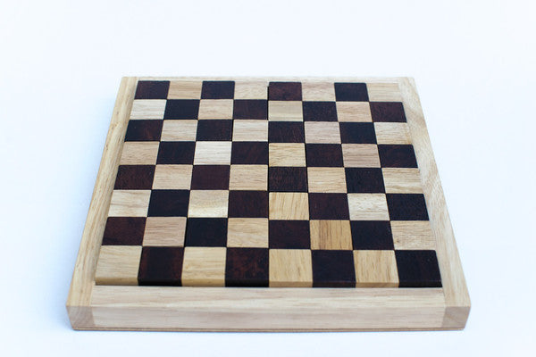 Mino  board - Wooden Chess Puzzle