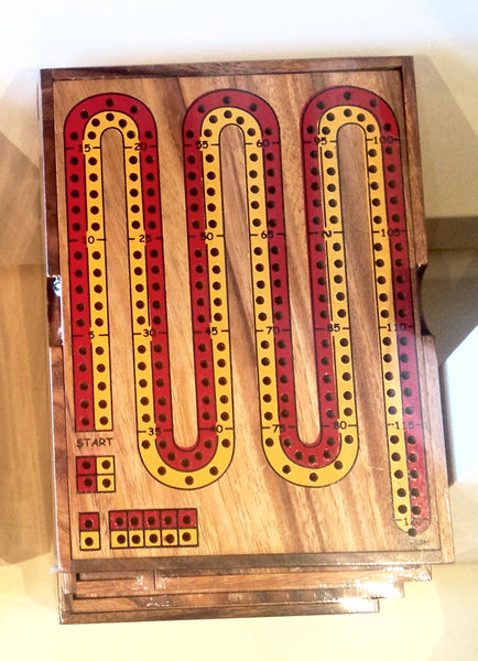 Cribbage  Board 2 players- Wooden Game