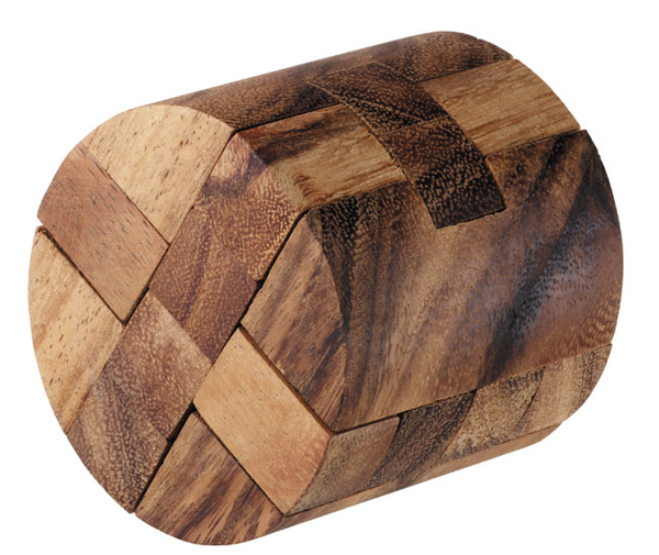 Round Diamond - Wooden Puzzle