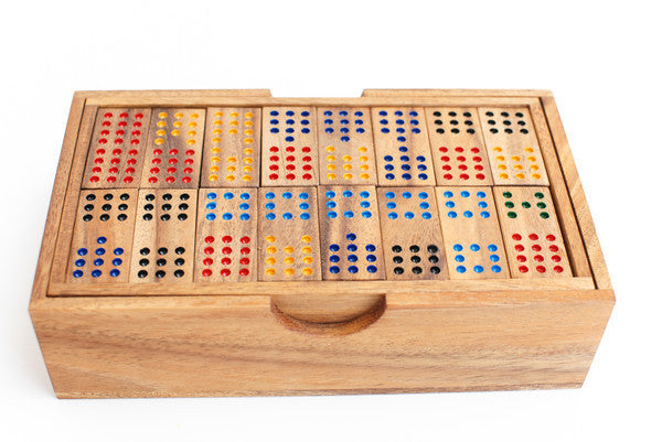 Domino 12 - Wooden Game