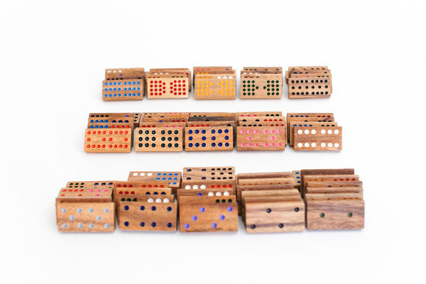 Domino 15 - Wooden Game