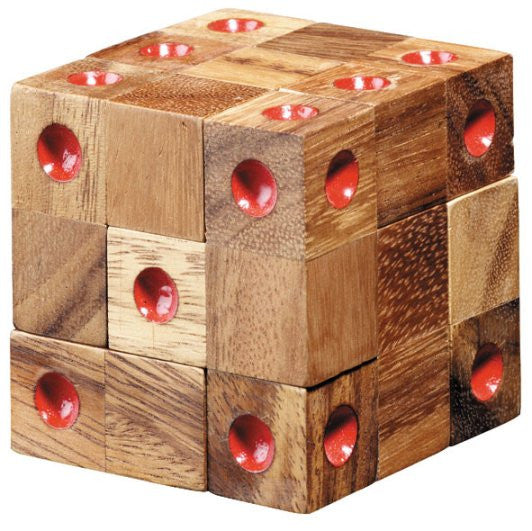 Domino Cube - Wooden Puzzle