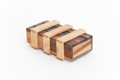 Double Magic Box - Wooden Trick Puzzle