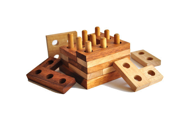 Imagine Wooden Puzzle Brain Teaser