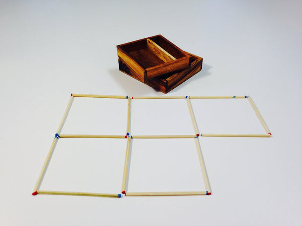 Matches Enigma - Wooden Brain Teaser
