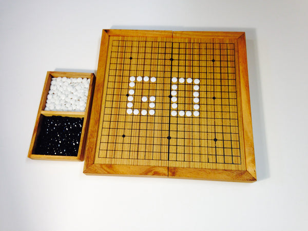 GO - Wooden Strategic Game