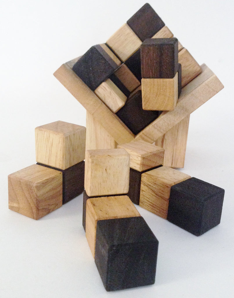 Cube in a Box - Wooden Puzzle