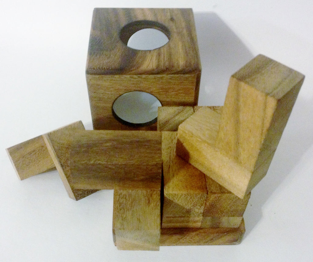 Soma in a box (3D Tangram) - Wooden Puzzle