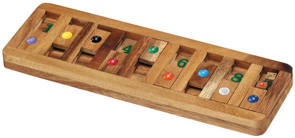 Shut the Box - Wooden Game