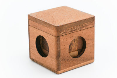 Soma Cube Small (3D Tangram) - Wooden Puzzle