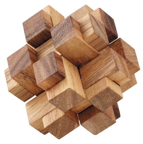 3D Squares Cube - Wooden Puzzle - Solve It! Think Out of ...