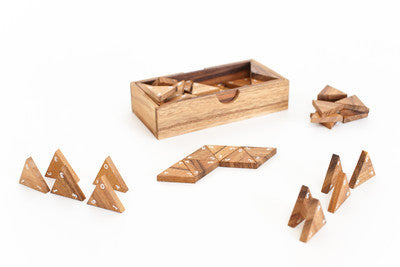 Triominos - Wooden Game