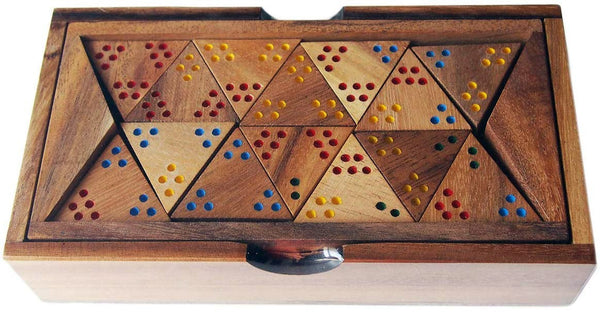Triominos Dots - Wooden Game