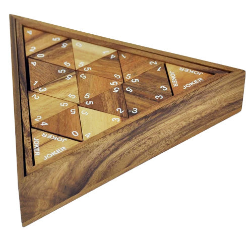 Triomino Triangle - Wooden Game