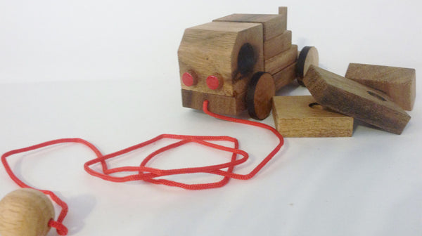 Truck - Wooden Puzzle