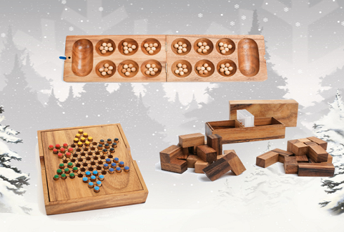 Two Players Collection (Mancala + Checkers + Soma)