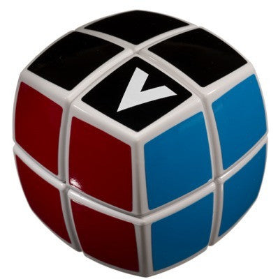 V Cube v cube 2 white pillowed multicolor cube puzzle solve it think out