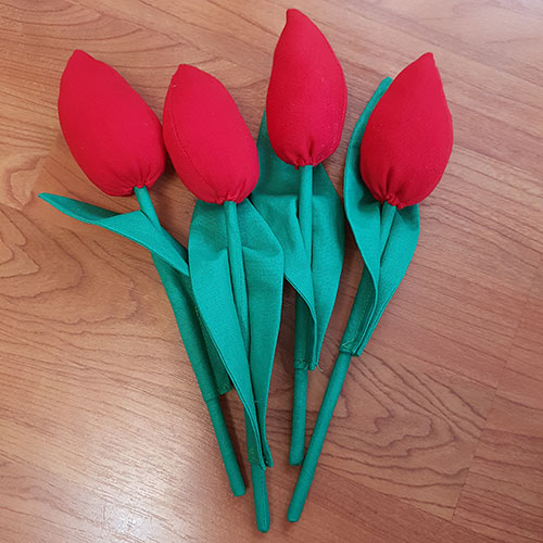 Tulip Tutorial and free pattern